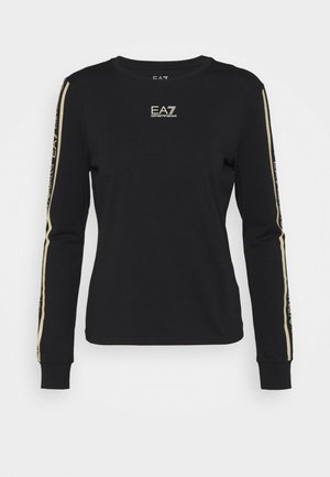 Long sleeved top - black/light gold