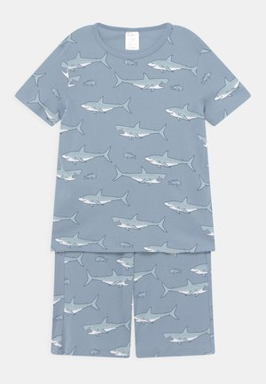 MINI SHARKS - Pyjamas - dusty blue