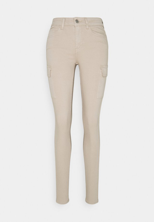 NMLUCY UTILITY PANTS - Bukse - chateau gray