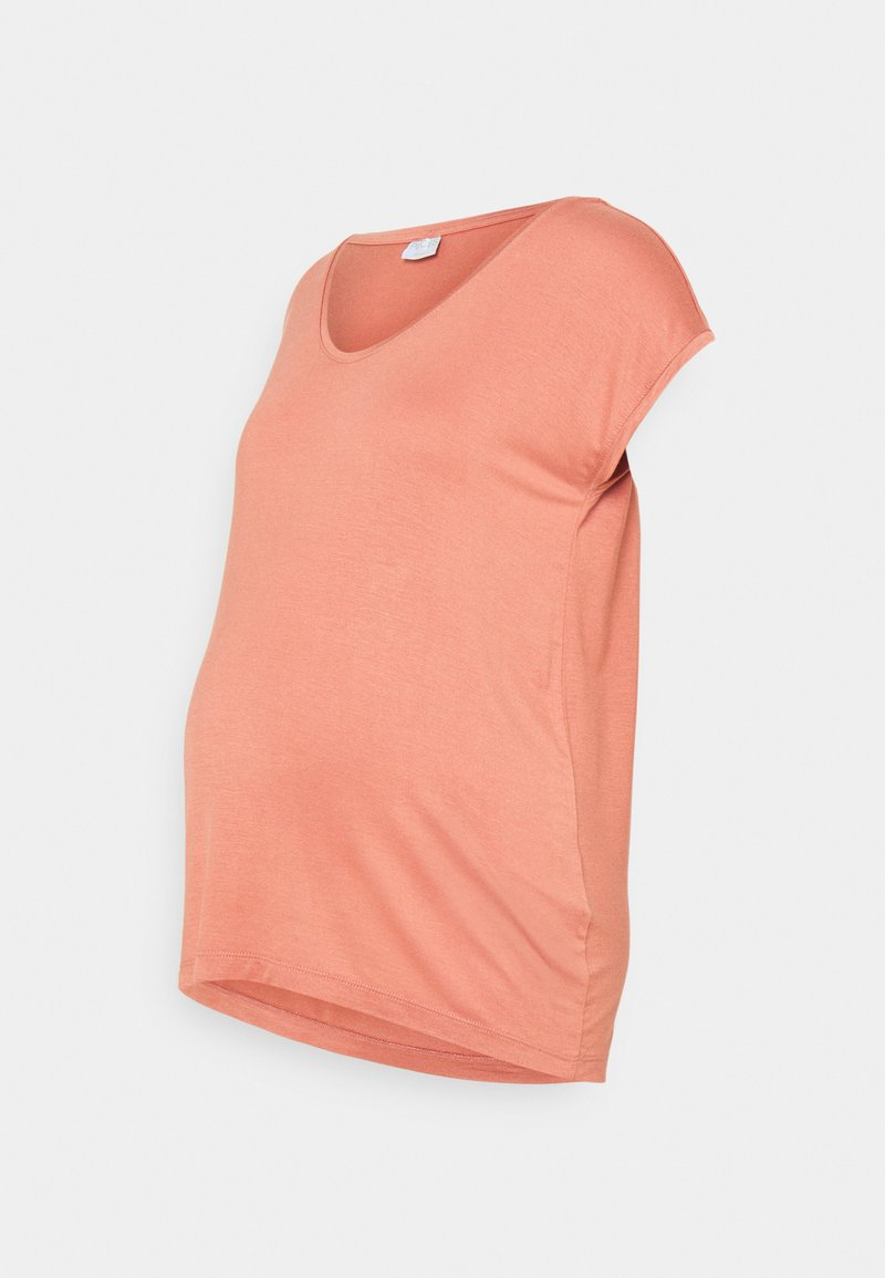 Pieces Maternity - PCMBILLO TEE SOLID - Basic T-shirt - rose