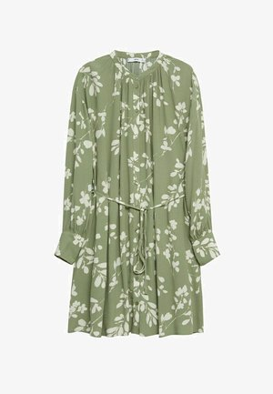 ESTAMPADO CINTURÓN - Shirt dress - verde pastel