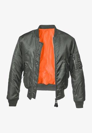 Bomber Jacket - charcoal