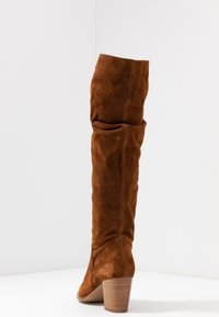 Anna Field - LEATHER BOOTS - Boots - cognac - 4