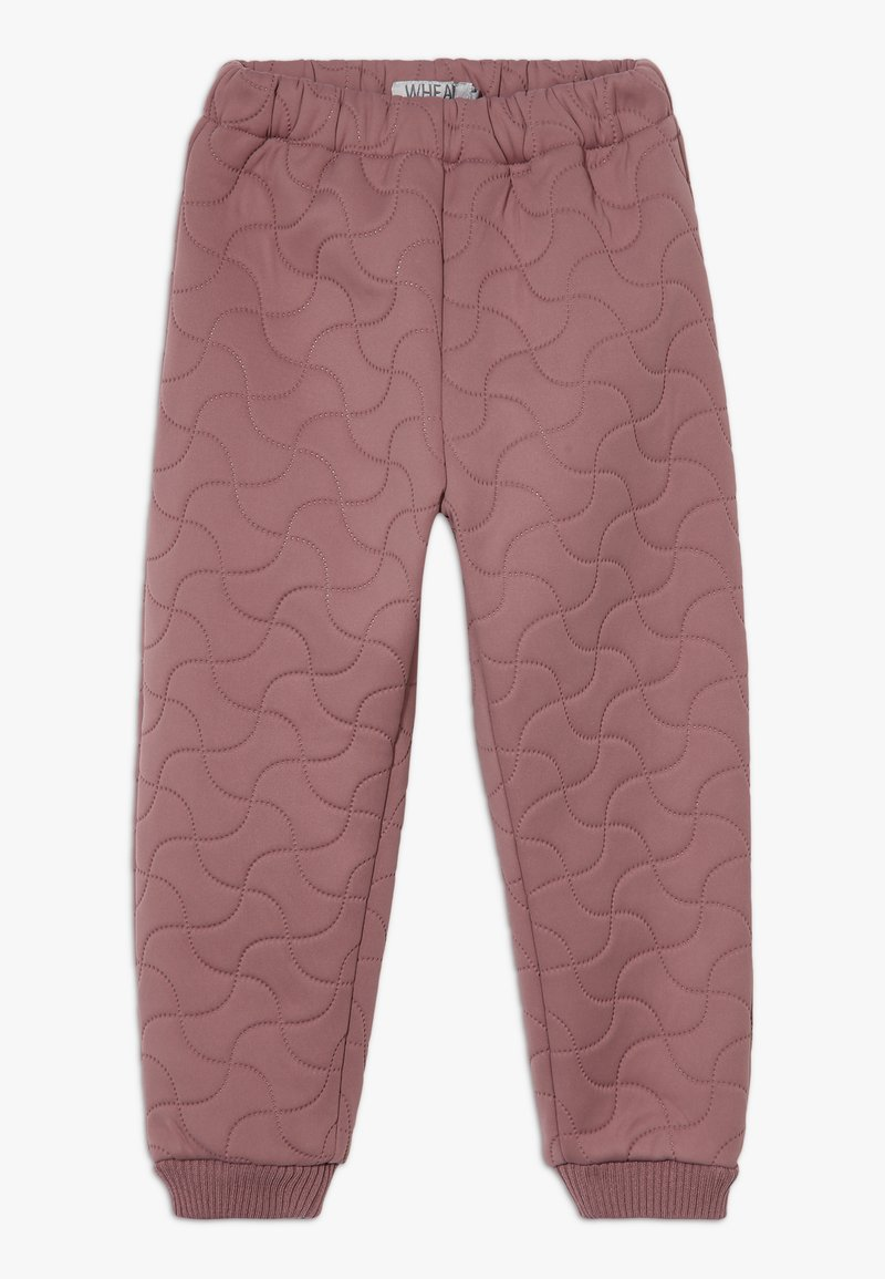 Wheat - THERMO ALEX - Trousers - plum