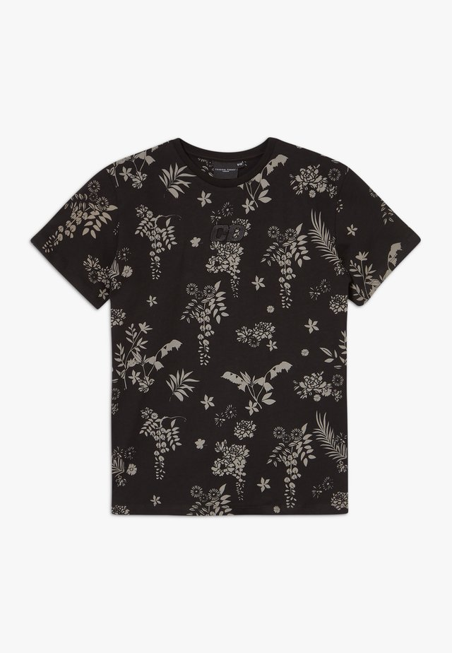 JULIUS TEE - T-shirt z nadrukiem - black