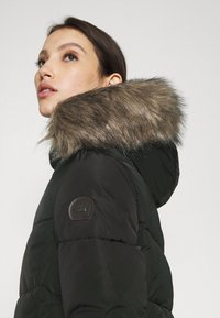 ONLY - ONLROONA QUILTED JACKET - Winter jacket - black - 5