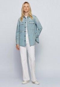 BOSS - Button-down blouse - blue - 1