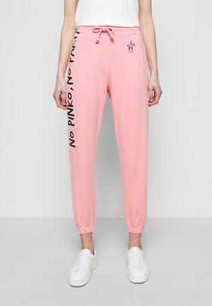 ENOLOGIA - Teplákové kalhoty - pink