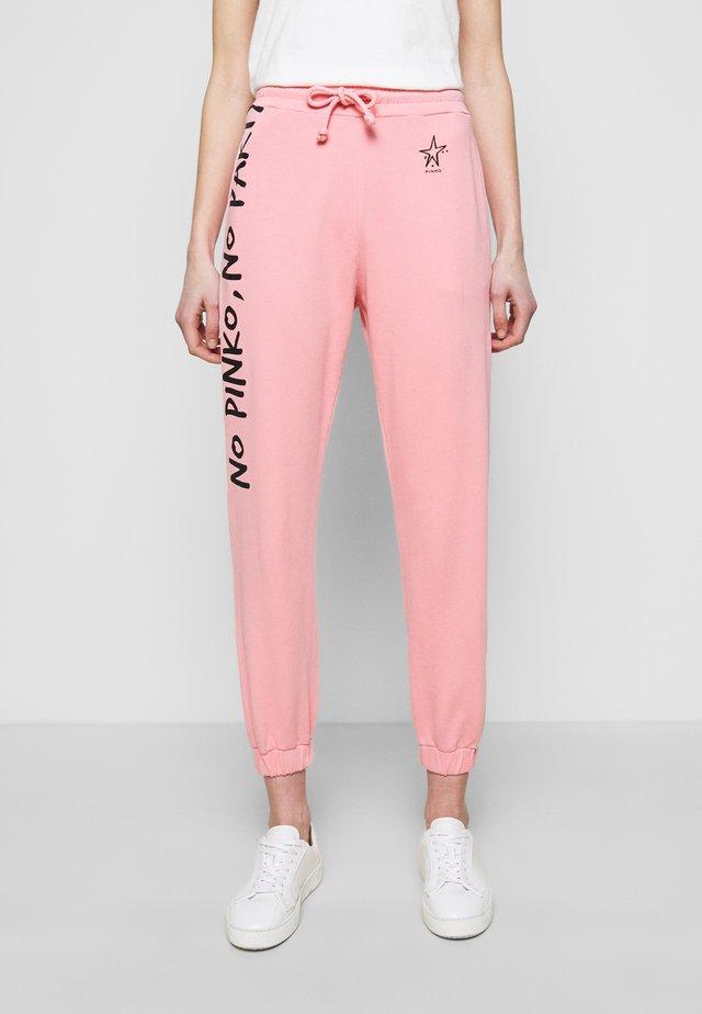 ENOLOGIA - Spodnie treningowe - pink