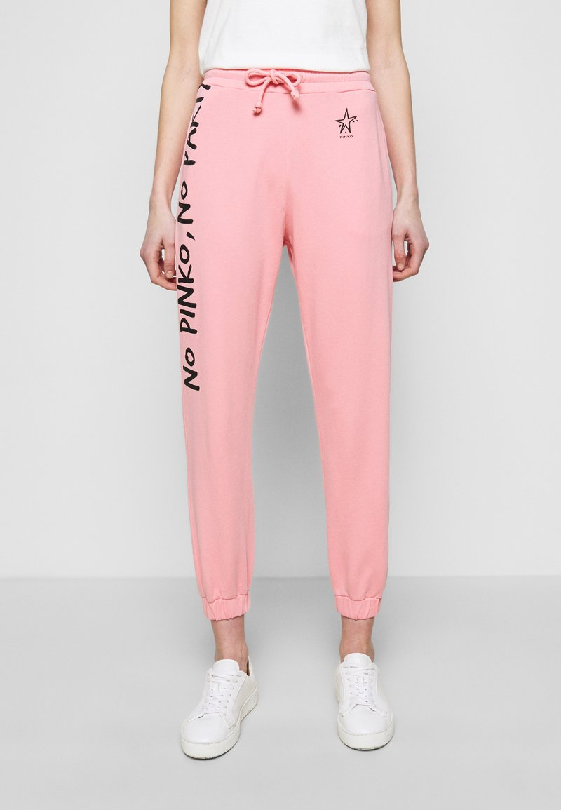 Pinko - ENOLOGIA - Tracksuit bottoms - pink