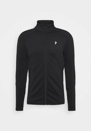 RIDER ZIP JACKET - Fleece jacket - black
