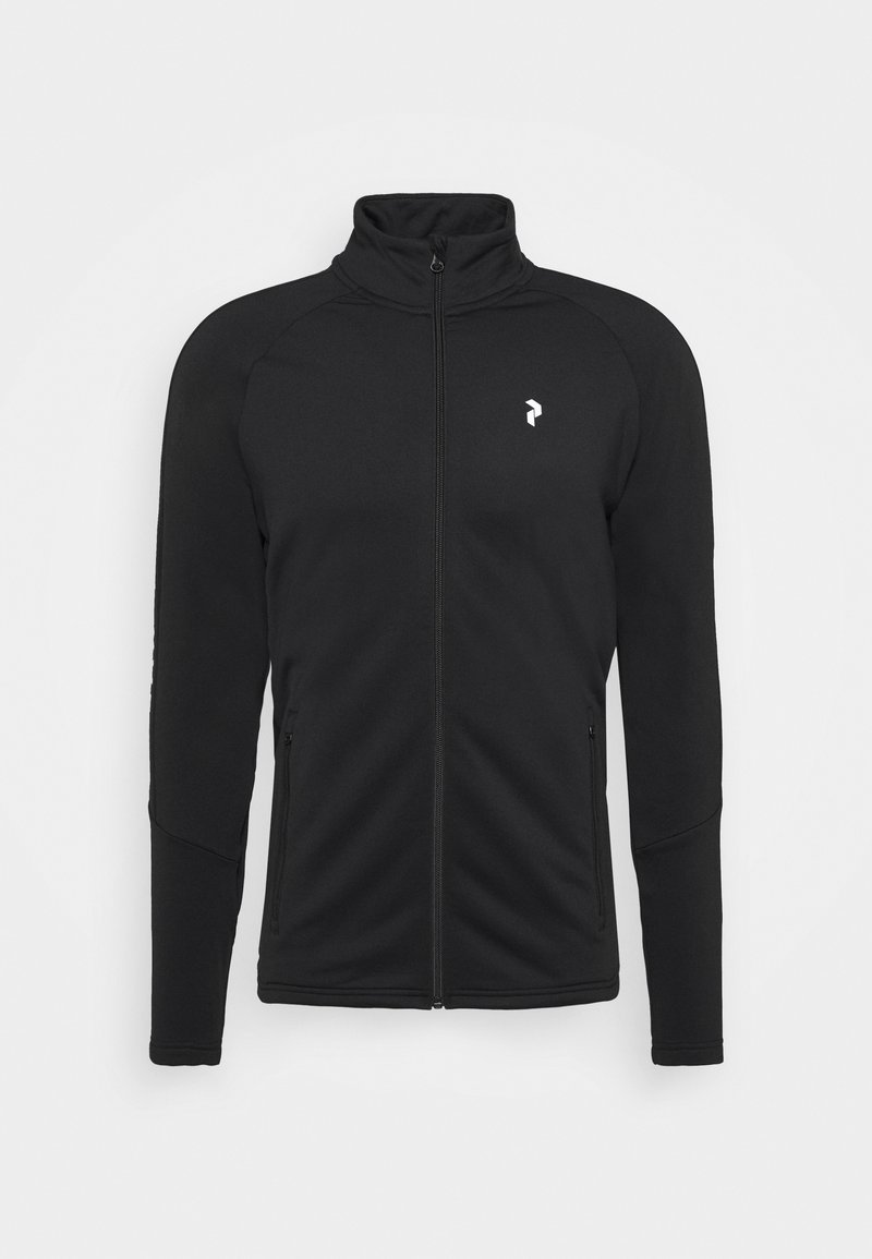 Peak Performance - RIDER ZIP JACKET - Fleece jacket - black