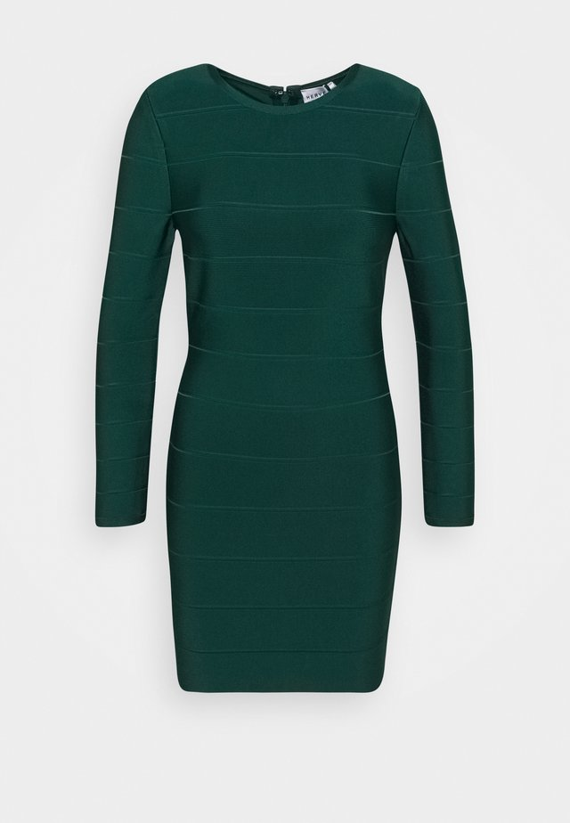ICON LONG SLEEVE DRESS - Tubino - evergreen