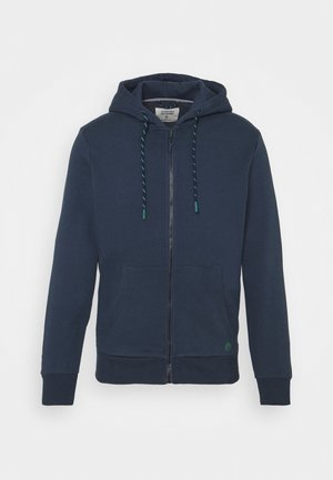 BASICA ABIERTA - veste en sweat zippée - medium blue