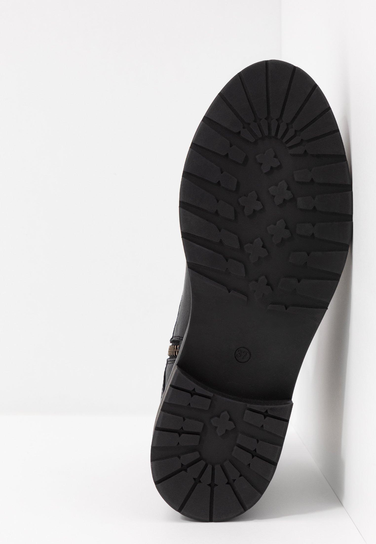 Pavement Charley - Snørestøvletter Black/svart