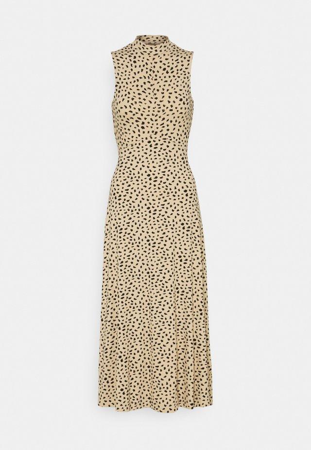 TALIA DRESS - Maxi dress - brushstroke