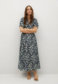 Mango - CALABASA - Maxi dress - azul marino oscuro - 0
