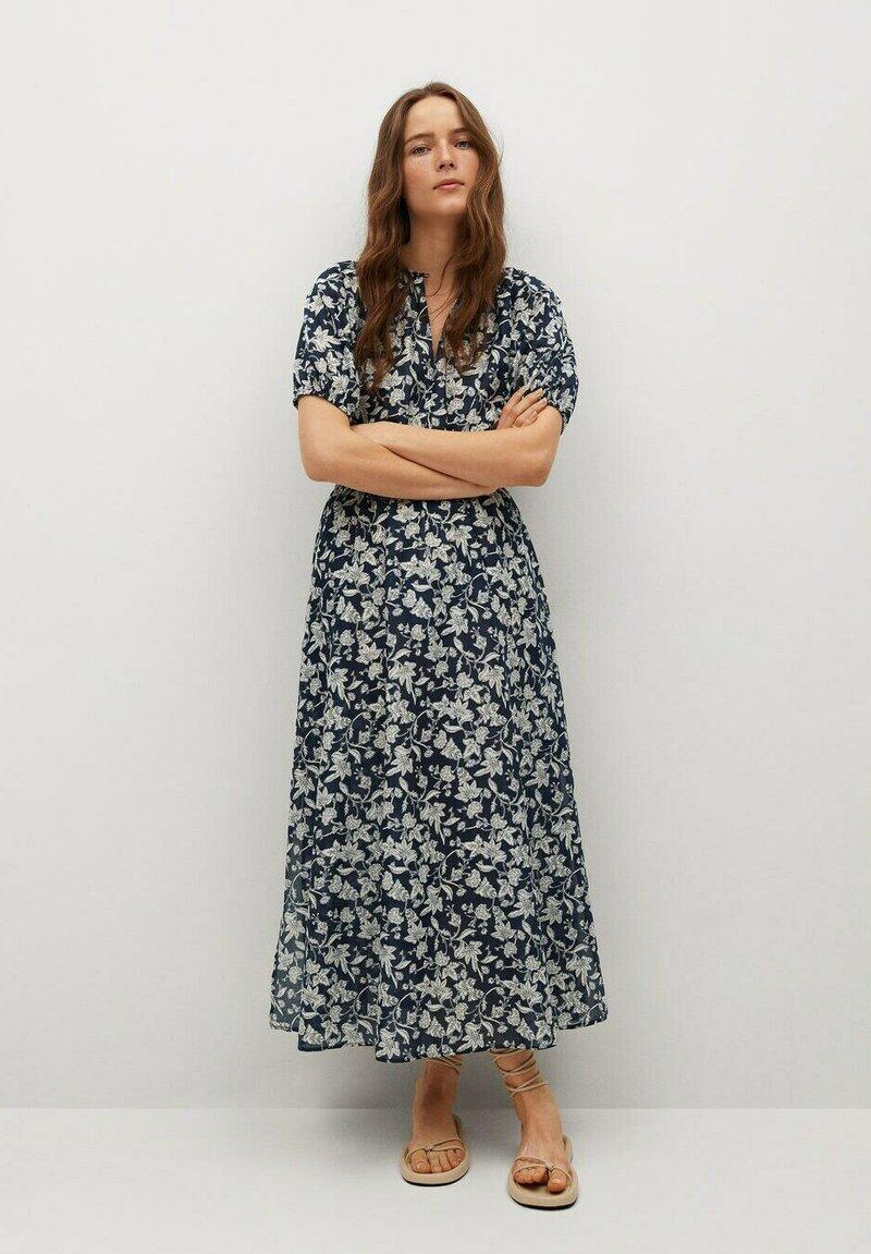 Mango - CALABASA - Maxi dress - azul marino oscuro