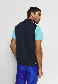 Lacoste Sport - TENNIS - Sports shirt - navy blue/haiti blue/white - 2