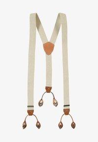 Lloyd Men's Belts - BRACES HOSENTRÄGER - Belt - ecru - 0