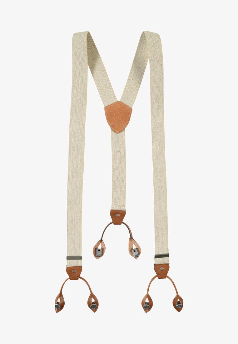 Lloyd Men's Belts - BRACES HOSENTRÄGER - Belt - ecru