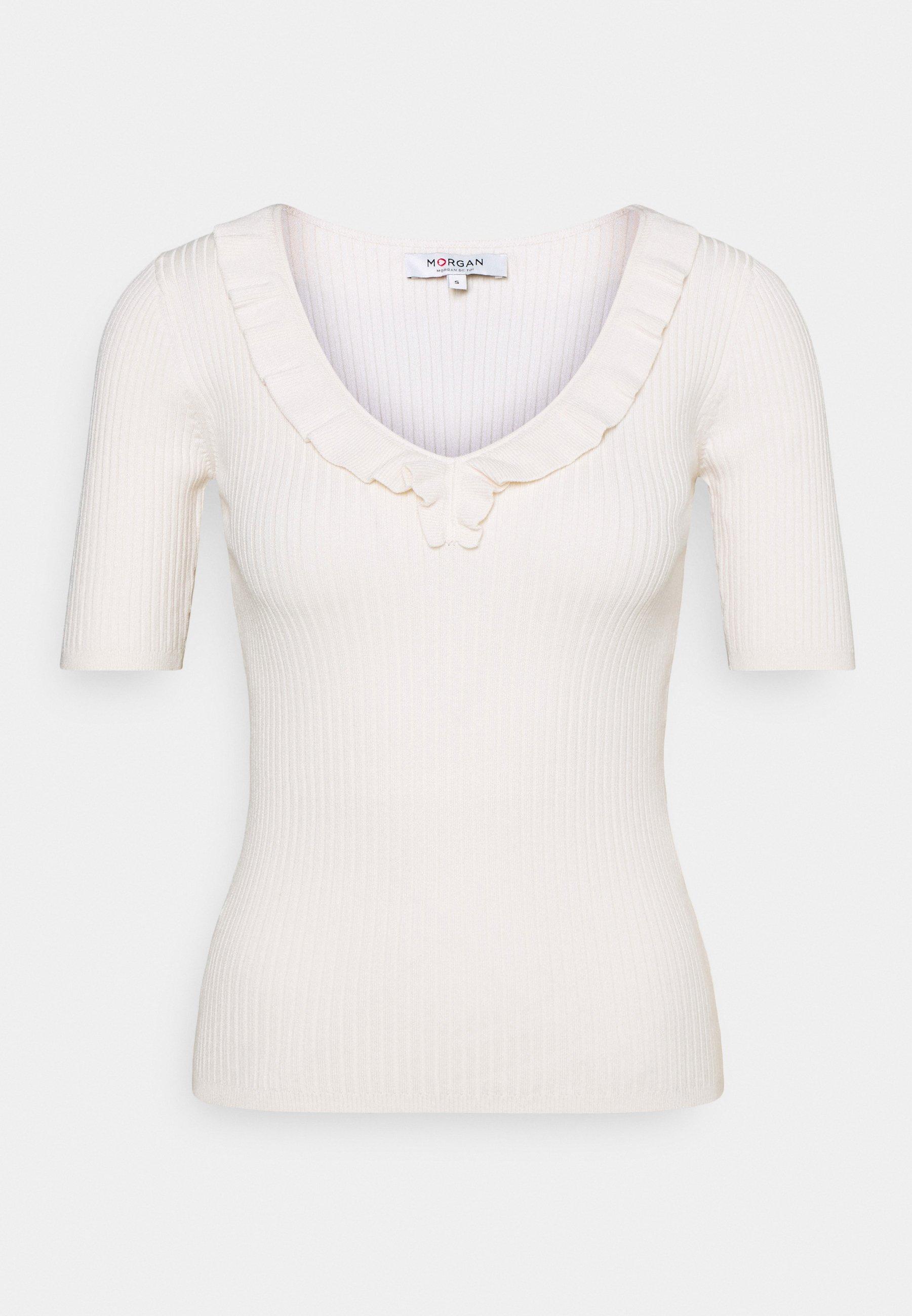 Women MVOLA V-NECK - Basic T-shirt