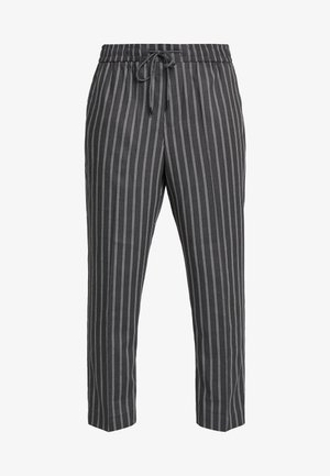 SLIM CROP TWIN THOM - Spodnie materiałowe - grey
