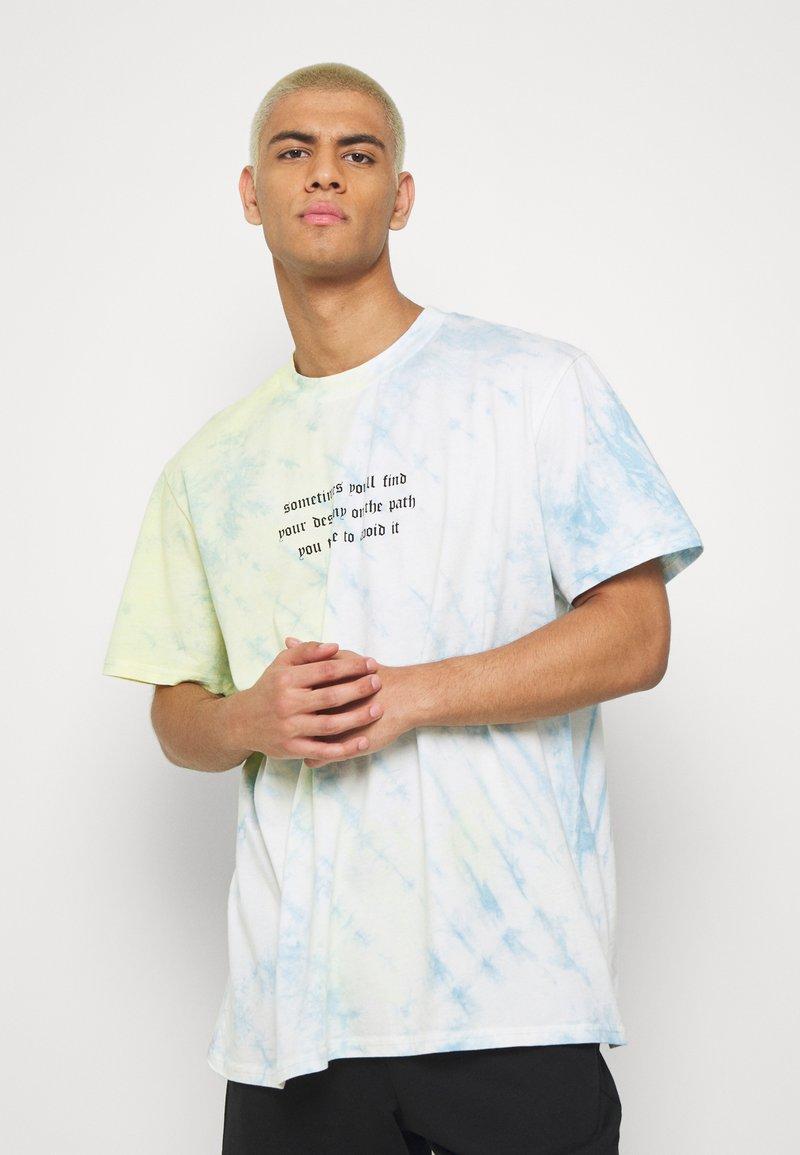 Night Addict - RAIDEN - Print T-shirt - blue
