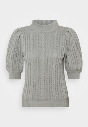 RAWANGZ TURTLENECK - Print T-shirt - slate gray