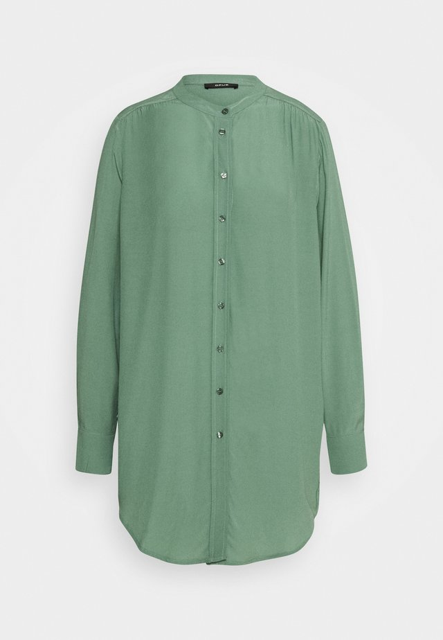 FEINKE - Shirt dress - green
