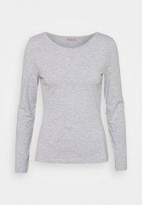 Anna Field - 2 PACK - Langærmede T-shirts - dark blue/mottled light grey - 3