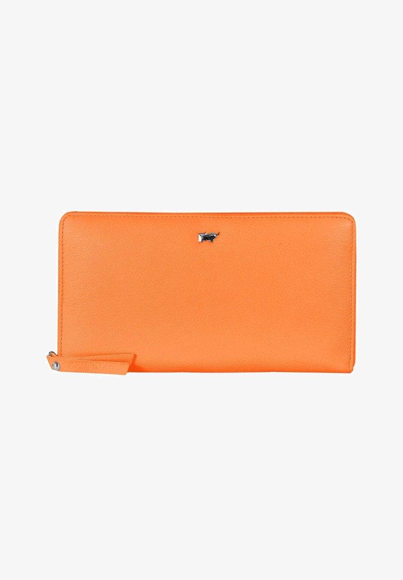 Braun Büffel - MIAMI - Wallet - tangerine