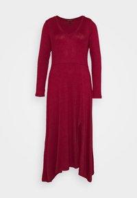 Banana Republic - VNECK COZY - Jumper dress - mulled cranberry - 5