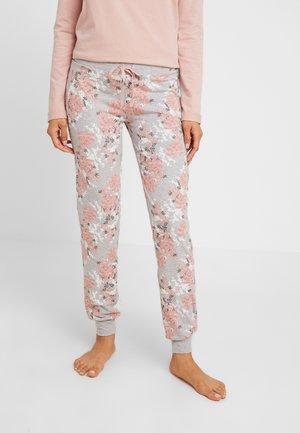 DAMEN HOSE LANG - Pyjamahousut/-shortsit - rose