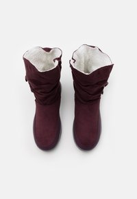 Kappa - CREAM UNISEX - Winter boots - purple/silver - 3