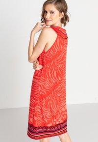 Ivko - ANIMAL PATTERN - Day dress - red - 2
