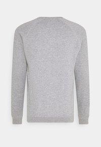 Pier One - SET - Sweat à capuche - light grey melange/black - 4
