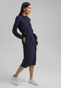 Esprit Collection - FASHION - Robe chemise - navy - 3