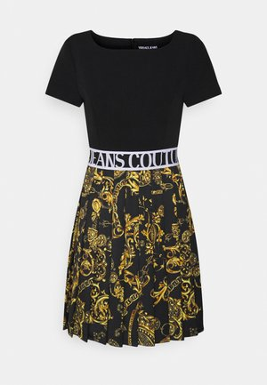 Cocktail dress / Party dress - black/gold