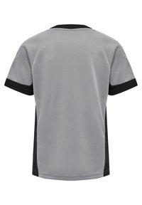 Hummel - Print T-shirt - grey melange - 1