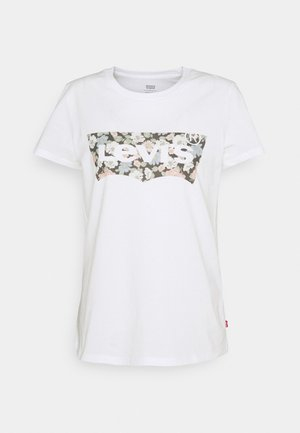 THE PERFECT TEE - T-shirt med print - vanessa floral/fill white