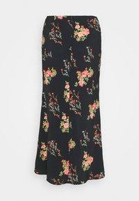 Glamorous Tall - LADIES SKIRT FLORAL - A-line skirt - black/pink - 1