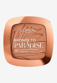 L'Oréal Paris - BRONZE TO PARADISE - Bronzer - baby one more tan - 0