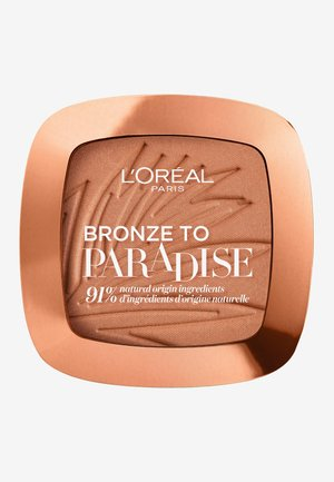 BRONZE TO PARADISE - Bronzer - baby one more tan