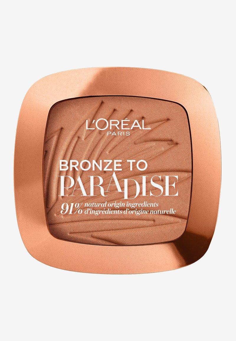 L'Oréal Paris - BRONZE TO PARADISE - Bronzer - baby one more tan
