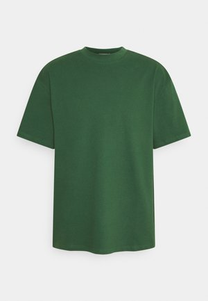 GREAT - Jednoduché triko - dark green