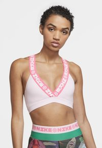 Nike Performance - Sports bra - pink foam/hyper pink/hyper pink - 0