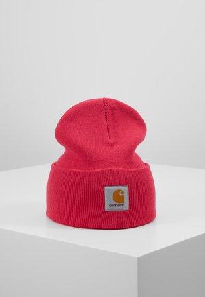 WATCH HAT - Czapka - ruby pink