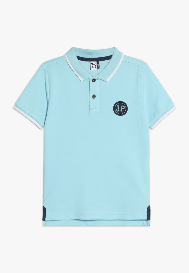POLO MAILLE - Poloshirt - turquoise
