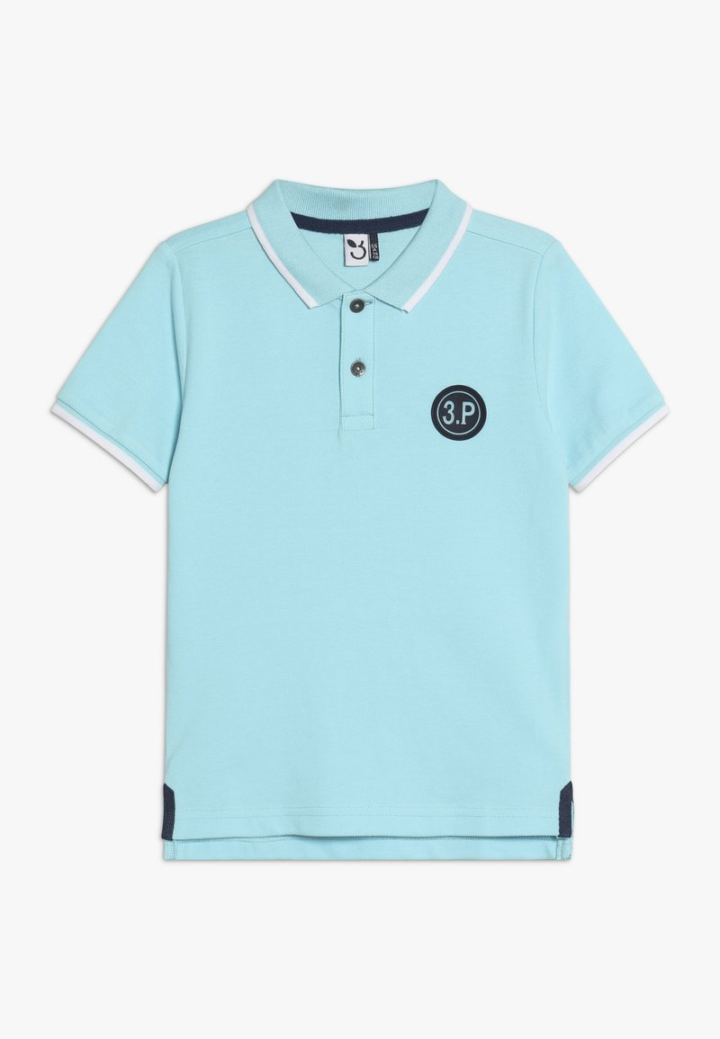 3 Pommes - POLO MAILLE - Polo shirt - turquoise